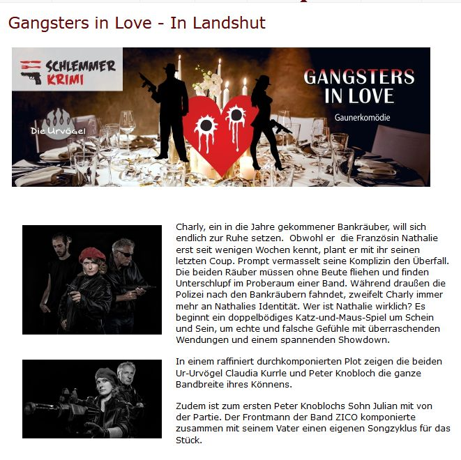 gangsters in love